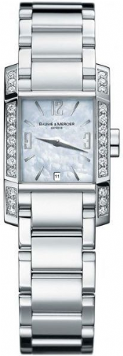 BAUME & MERCIER Diamant Diamond Ladies Watch 8666
